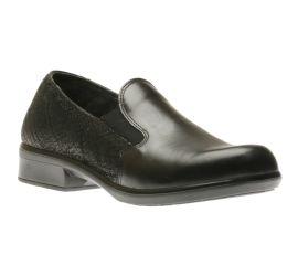 Ostro Black Leather