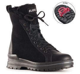 Zaide Black Winter Boot