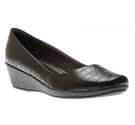 Dress Shoe Blk Croc