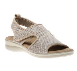 Ladies Velcro Biege