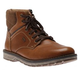 Lace Boot Z Brown