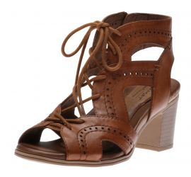 Hattie Open Lace Tan