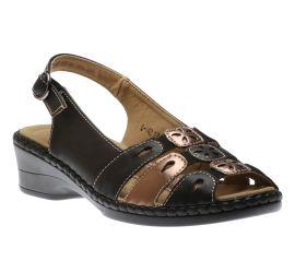 Sandal Black/Bronze