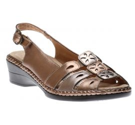 Sandal Bronze/Pewter