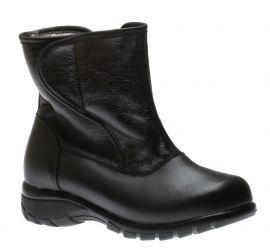 Claire Black Winter Boot