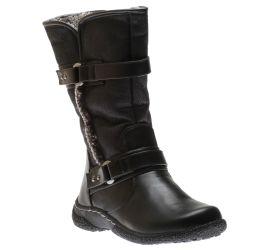 Gabi 2 Black Mid-Calf Winter Boot
