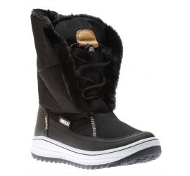 Hanna Black Mid-Calf Boot