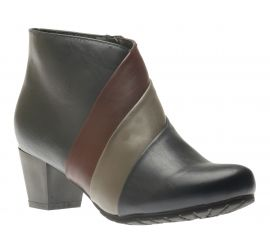 Jalsa Navy Ankle Boot