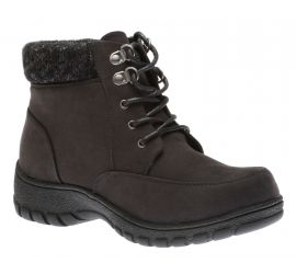 Lorine Low Lace-Up Boot Black