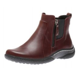 Maddi Burgundy Ankle Boot