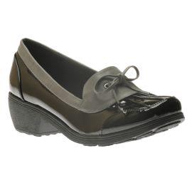 Weather or Not Black/Grey Slip-On Rain Shoe