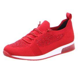 Lyssa Red Sparkle Sneaker
