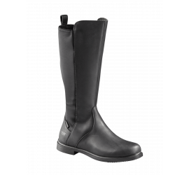 Stratford Black Leather Riding Boot