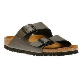 Arizona Birko-Flor Pull Up Anthracite Sandal