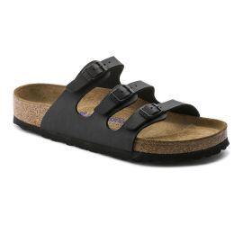 Florida Birko-Flor Black Sandal