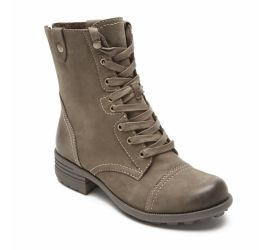 Bethany Stone Lace-Up Boot