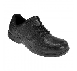 Windsor Black Leather Waterproof Lace-Up Oxford