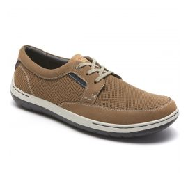 Fitswift Tan Oxford Casual Shoe
