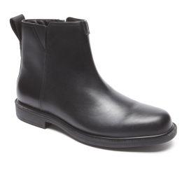 James Black Leather Waterproof Chelsea Boot