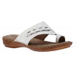 Toe Thong White