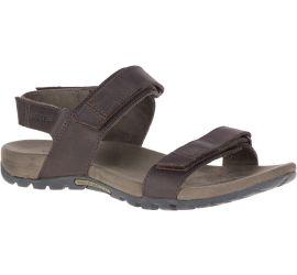 Sandspur Backstrap Brown Leather Sandal