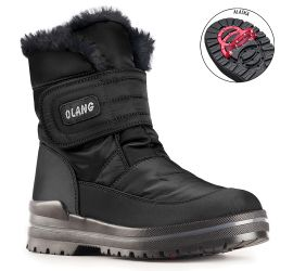 Luna OC Velcro Black