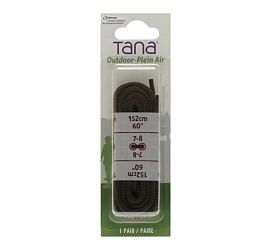 "Outdoor Laces 60"" Brown"