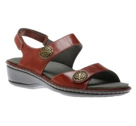 Candace Dark Red Sandal