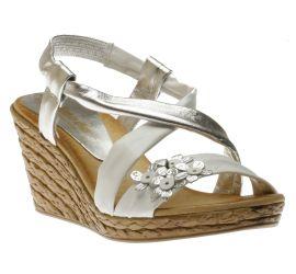 Sandal  White Plata