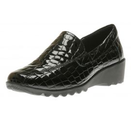 Carree 03 Black Croc