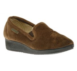 Women Slipper Brown