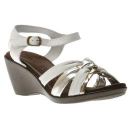 Sandal White/Silver