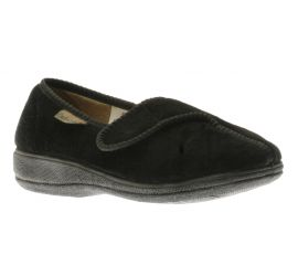 Women Velcro Black