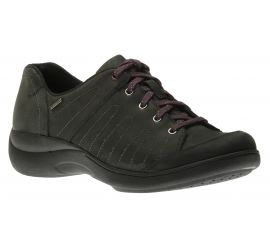Rev Stridarc Waterproof Savor Black/Nubuck Lace-Up Sneaker