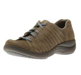 Rev Stridarc Waterproof Savor Tan Leather Lace-Up Sneaker