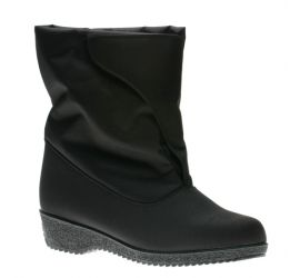 Easy On Black Winter Boot