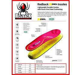 Redback xcel Insoles