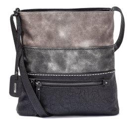 Black Grey Combination Handbag