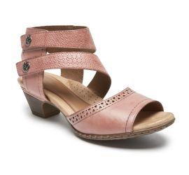 Abbott Pink Cuff Strap Sandal