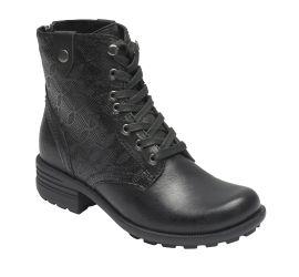 Brunswick Black Lace-up Boot