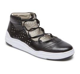 Cady Black Gladiator Sneaker