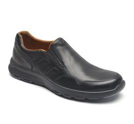 Let's Walk Black Slip-On Sneaker