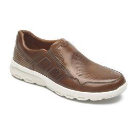 Let's Walk Tan Slip-On Shoe
