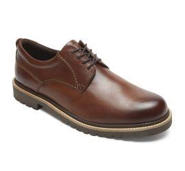 Marshall Dark Brown Plain Toe Oxford