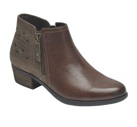 Oliana Brown Ankle Boot