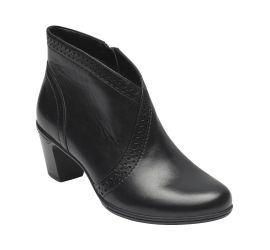 Rashel V-Cut Black Boot