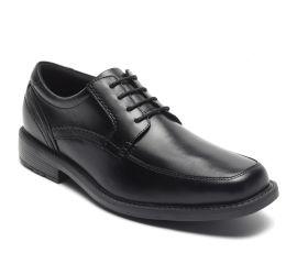 Sherwood Black Apron Toe Oxford