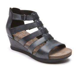 Shona Black Gladiator Sandal