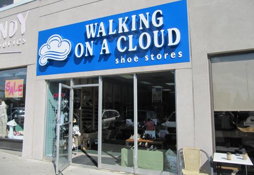 Walking on a Cloud Bathurst St. & Lawrence