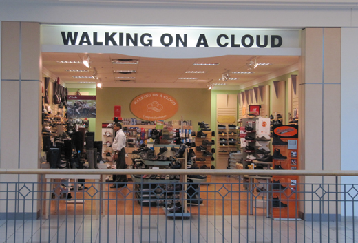 Walking on a Cloud Erin Mills Town Centre